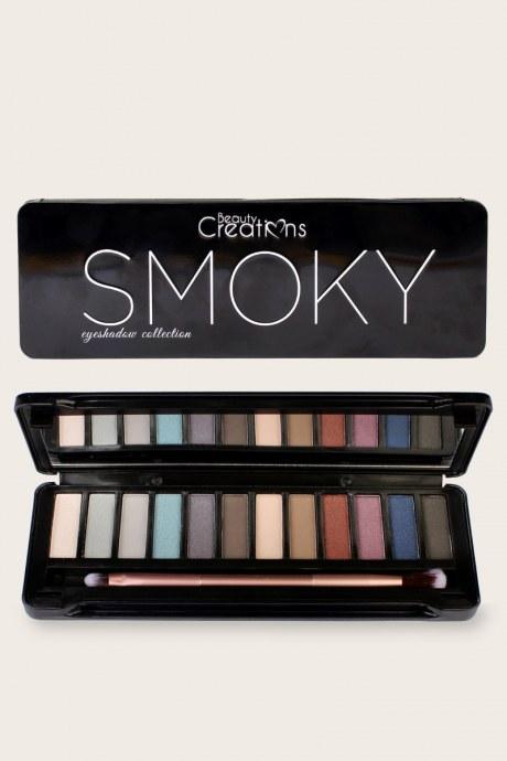 Paleta de sombras smoky  beauty creations
