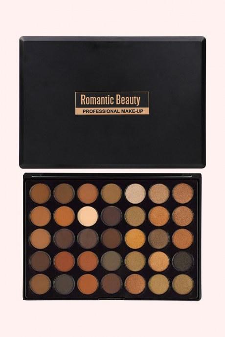 Pelata de sombras 35 colores - romantic beauty