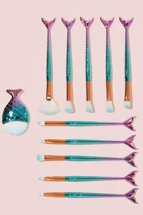 Set 11 brochas mermaid