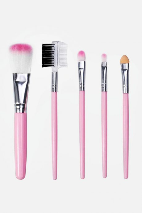 Set de 5 brochas pink
