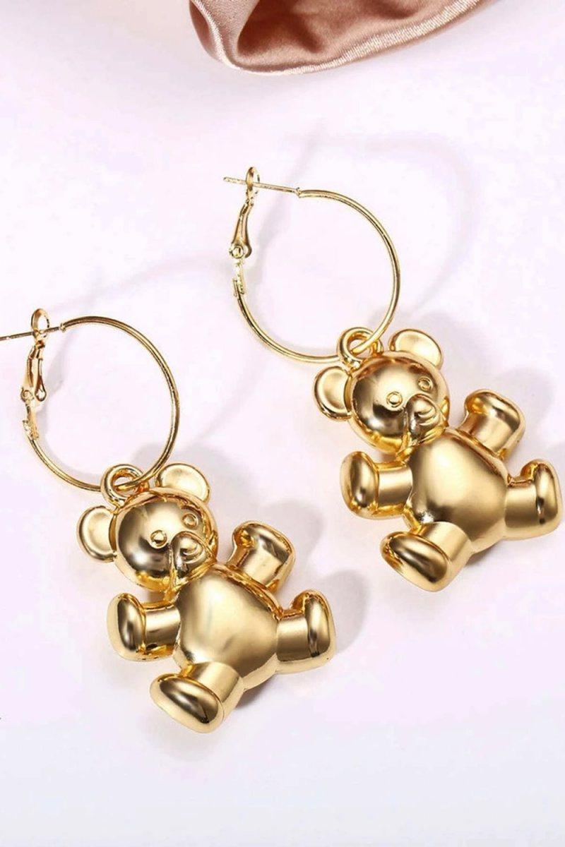 Aretes gold bear