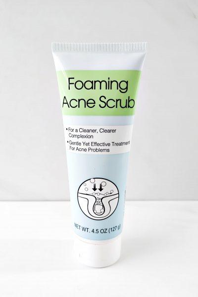 Espuma Exfoliante para el acne