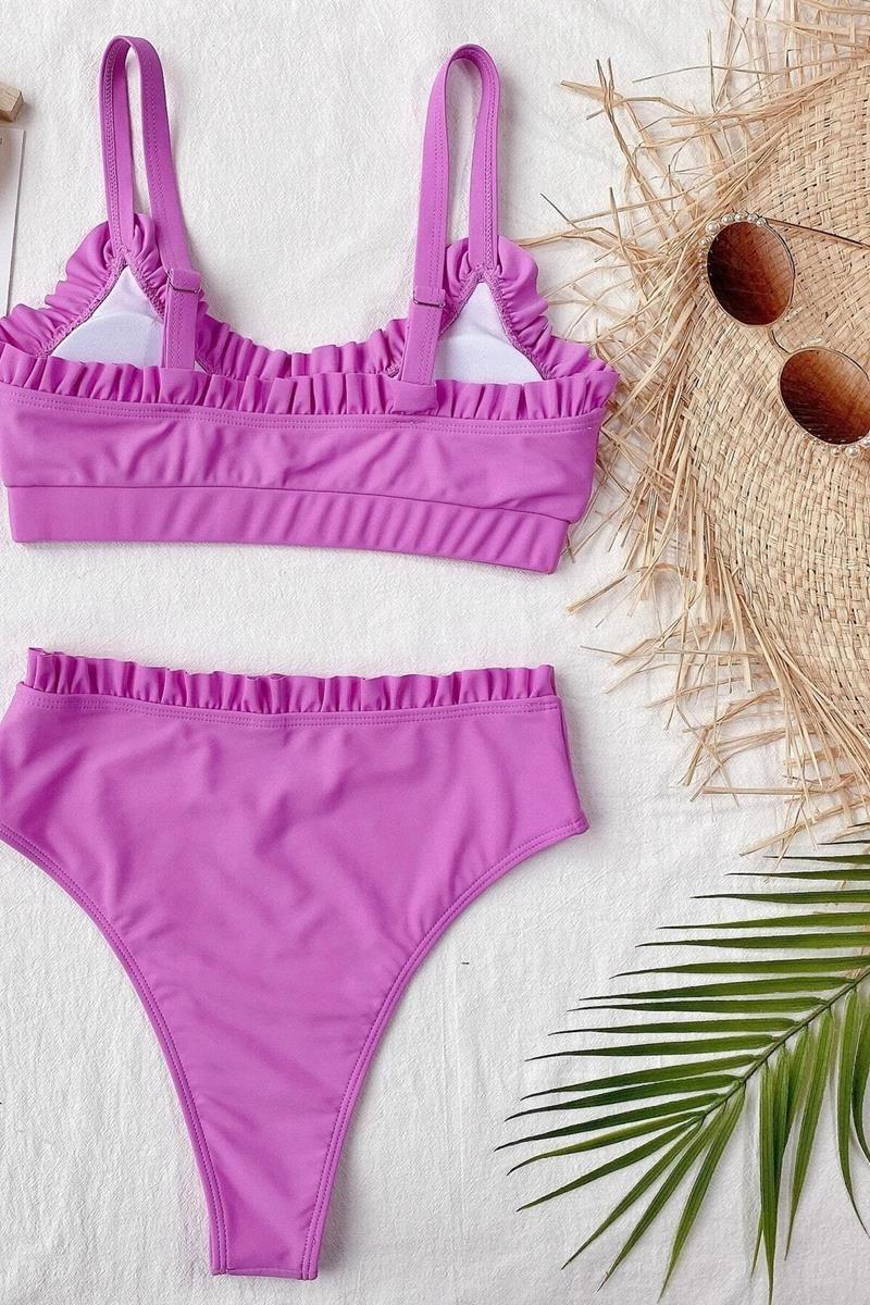 Bikini frill high waist